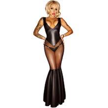 Noir Handmade schwarzes langes Kleid Gr.S | SUPERSALE