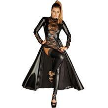 Noir Handmade Divalicious Gown - Domina Mantel