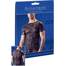 Herren - Svenjoyment Shirt Spitze Wetlook black | SUPERSALE