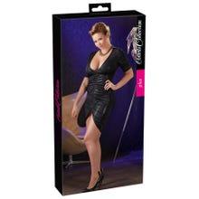 Cottelli Kleid mit Raffungen schwarz