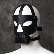HardcoreDeLuxe Mask Prison black