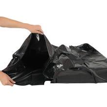 ORGY- Bettdeckenbezug schwarz
