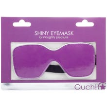 OUCH Augenmaske - Shiny Eyemaske purple - SUPERSALE