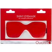 OUCH Augenmaske - Shiny Eyemaske red - SUPERSALE