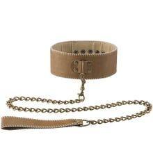 Halsband mit Kette - Braun - Supersale