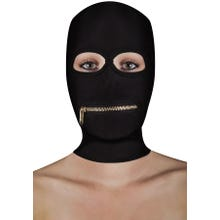 OUCH Extreme Zipper Mask with Mouth Zipper black M-XL