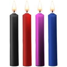 Ouch! Teasing Wax Candles Paraffin 4 Stück mixed