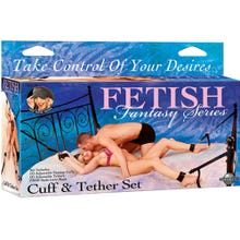 Fetish Fantasy - Cuff & Teather Set