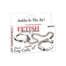 Fetish Fantasy - Metal Leg Cuffs
