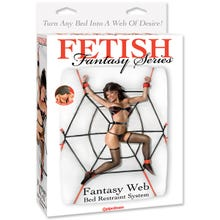 Fetish Fantasy - Fantasy Web Bed Restraints