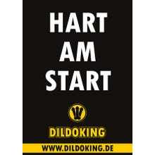 DILDOKING Plakat HART AM START in A1