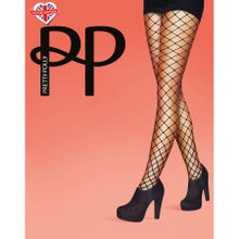 Pretty Polly Premium Fashion Jumbo Net Tights black S-L | SUPERSALE