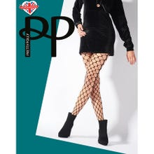 Pretty Polly Premium Fashion Very Large Net Tights black S-L | SUPERSALE