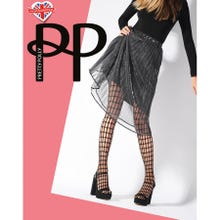 Pretty Polly Premium Fashion Oblong Net Tights black S-L | SUPERSALE