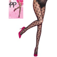 Pretty Polly Premium Fashion Spot Tight black/black S-L