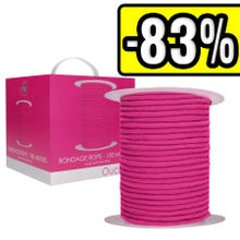 Ouch - Bondage Rope - 100 Meters - Pink | SUPERSALE