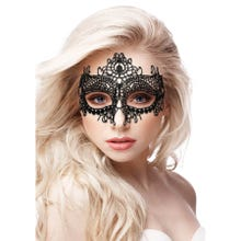 OUCH Queen Black Lace Mask black