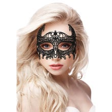 OUCH Empress Black Lace Mask black