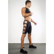 Ruben Galarreta Excess Dark Blue Short Strapped Pants dark blue