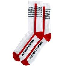 Ruben Galarreta Inferno Socks white Gr. Unisize