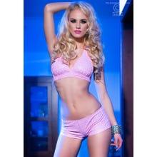 Chilirose 3D-Set Top and Shorts pink