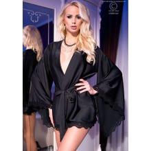 Chilirose Robe schwarz