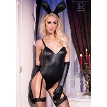Chilirose Bunny-Kostüm schwarz
