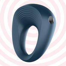 Satisfyer Rings 2 - Vibrocockring blue - Akku Power