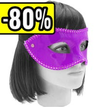 Sexy PVC Augenmaske purple