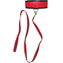 Sportsheets Red Leash & Collar