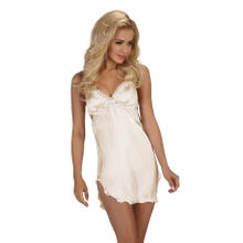 Beauty Night Fashion Shannon Chemise Set ecru