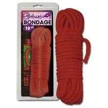 Bondage Seil Shibari rot 10 Meter