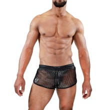 TOF Paris Roman Shorts silver