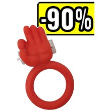 -       Shots Toys Silikon Cockring Picobello red SUPERSALE