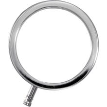 ELECTRASTIM - Solid Metal Cock Ring 46 mm