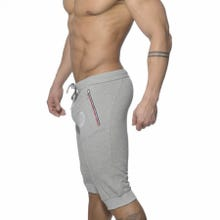 ES Collection SP047 Pique Knee Length Pant heather grey