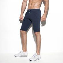 ES Collection SP177 Cotton Knit Knee Pant navy|SUPERSALE