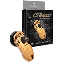 Keuschheitskäfig CB6000 Gold