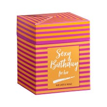 Geschenkset - Box -Sexy Birthday Surprises for Her-