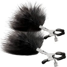 Steamy Shades - Adjustbale Feather Nipple Clamps