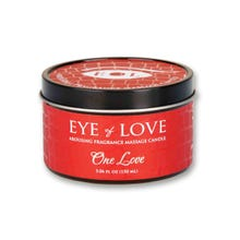 Massagekerze Eye of love Pheromon-Massagekerze One love 150ml