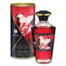 SHUNGA Intimate Kisses Öl 2.0 Blazing Cherry 100ml