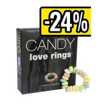 Candy Cockringe aus Zuckerperlen