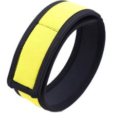 HardcoreDeLuxe Neoprene Puppy Biceps Straps 2Stk. yellow