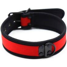 RudeRider Neoprene Puppy Collar red