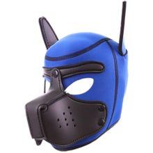 RudeRider Neoprene Puppy Hood blue/black