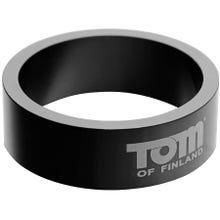 Tom of Finland Aluminium Cock Ring 45 mm black