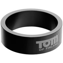 Tom of Finland Aluminium Cock Ring 50 mm black