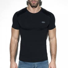 ES Collection TS230 Dystopia Padded T-Shirt black|SUPERSALE