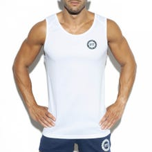 ES Collection TS257 Training Fit Tank Top white|SUPERSALE